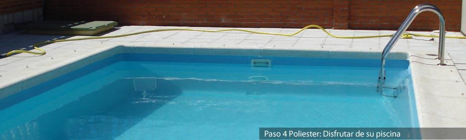 Instalaci n de piscinas de poliester en madrid loser - Instalacion de una piscina ...